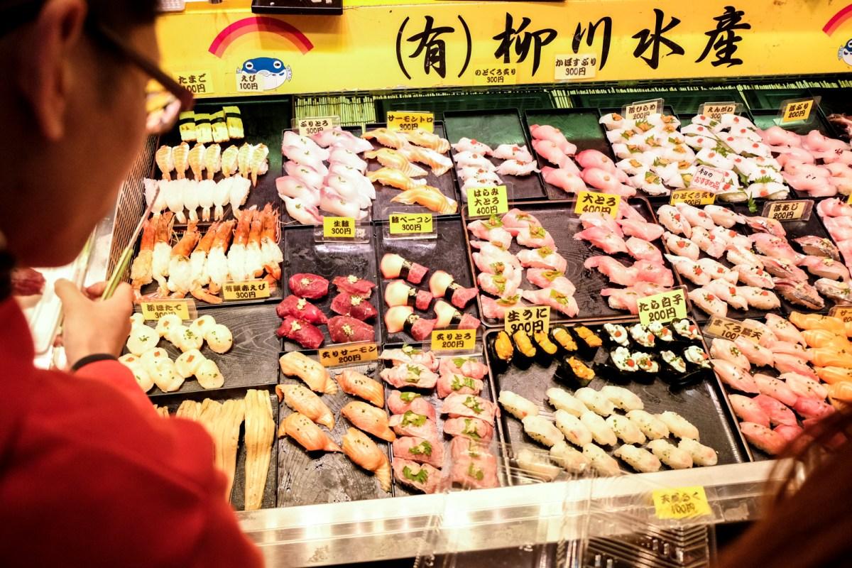 6 things to do in Northern Kyushu, Japan - Eat Sushi at Karato Fish Market