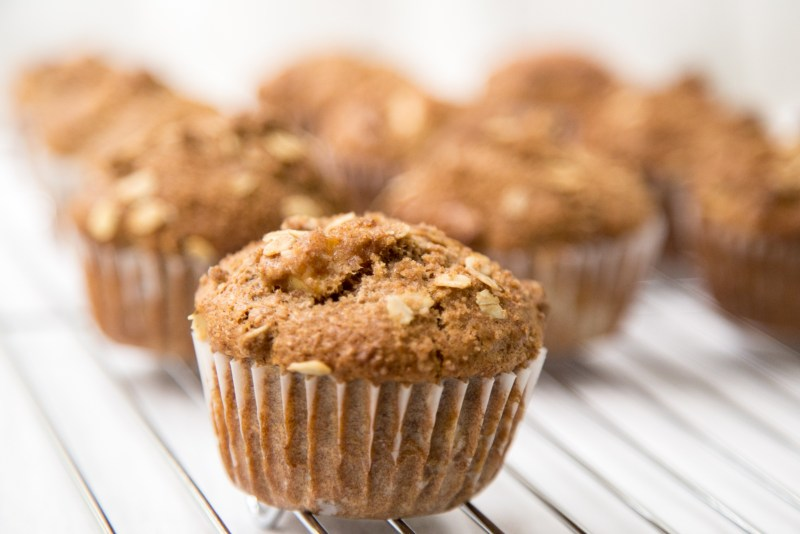 Apple Cinnamon Bran Muffins Recipe