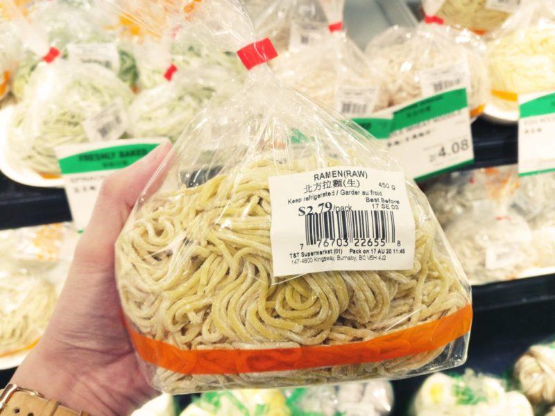 Ramen from T&T Supermarket
