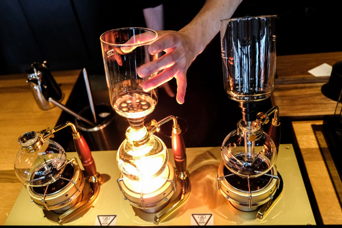 Siphon Brewing at Starbucks Reserve in Vancouver BC