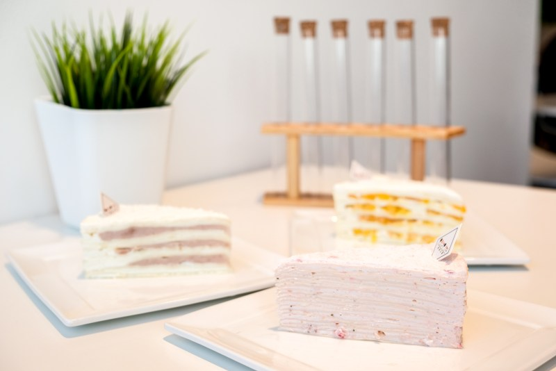 Mille Crepe Cakes from Sugar Lab Burnaby BC