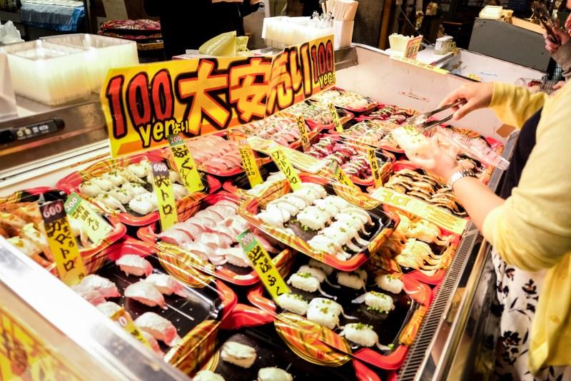 Sushi from Karato Market