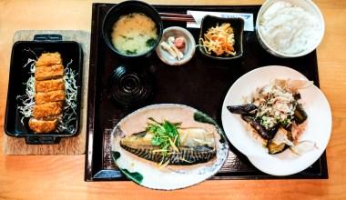 3-item Lunch Set from Bentendo Restaurant in Hakata 博多 弁天堂