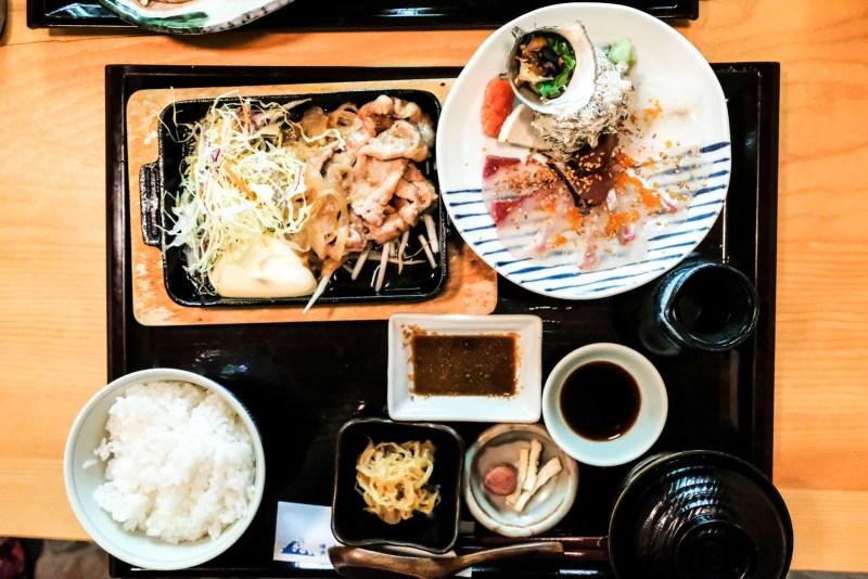 2-item Lunch Set from Bentendo Restaurant in Hakata 博多 弁天堂