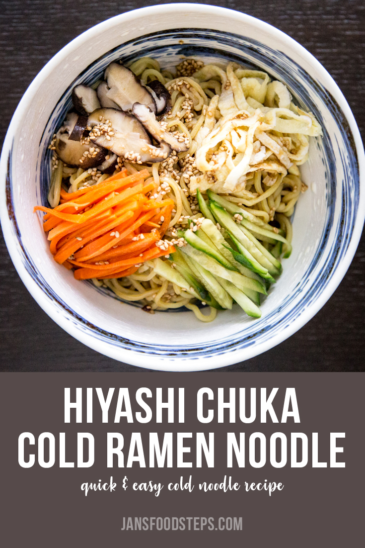 Hiyashi Chuka Cold Ramen Noodle Recipe