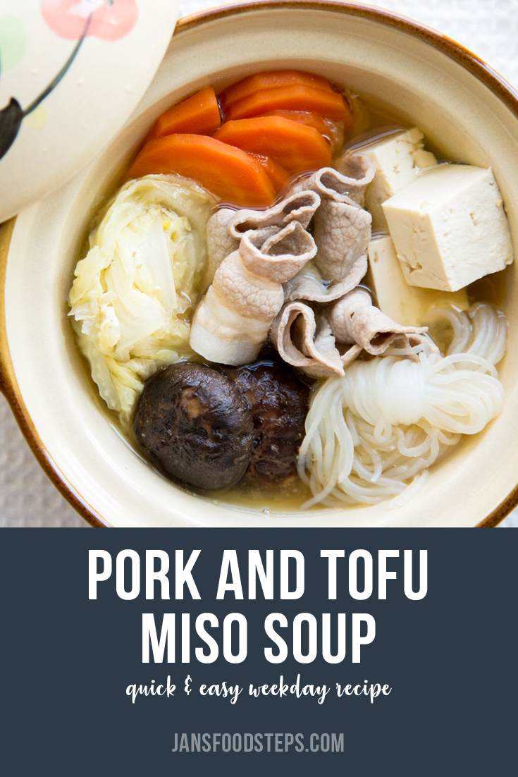 Pork and Tofu Miso Soup