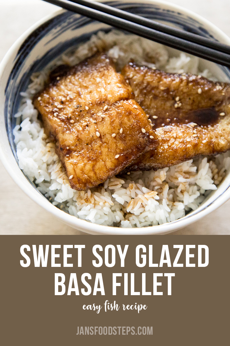 Sweet Soy Glazed Basa Fillet Recipe