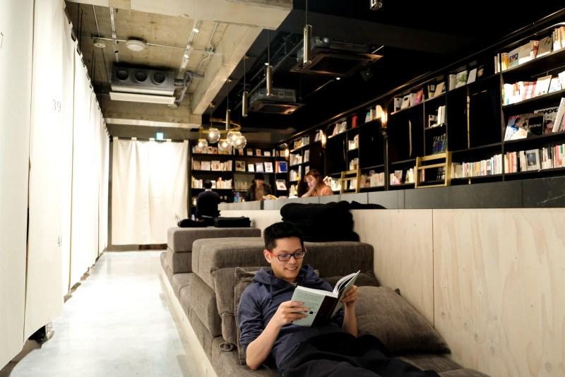 Book And Bed Tokyo Asakusa - sofas