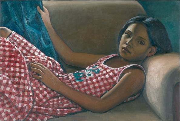 Vanesa, 2003, 120 x 80 cm, oil on canvas