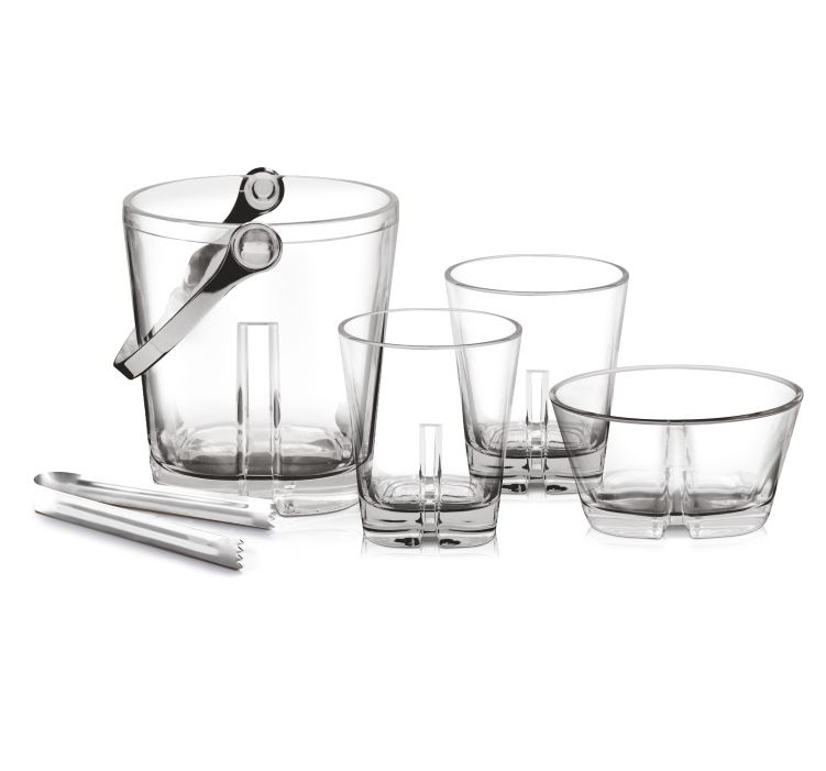 Buy Empire On The Rocks 9 Pcs Set at best price only at