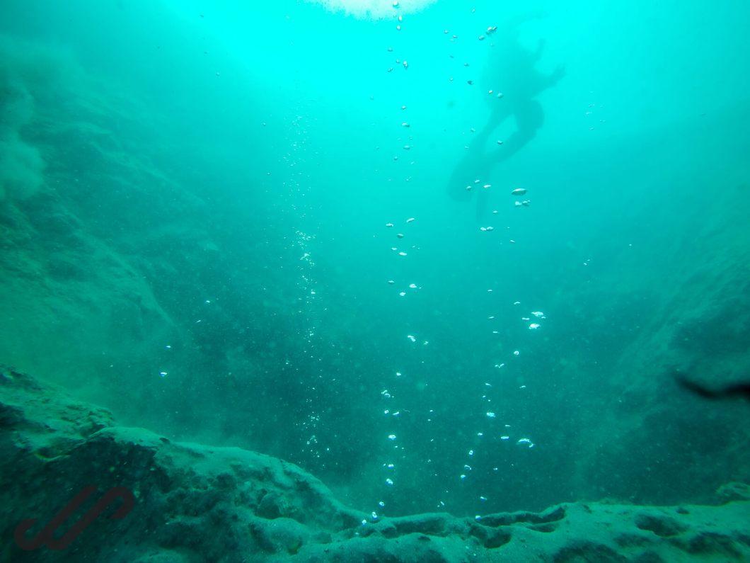duiken in IJsland