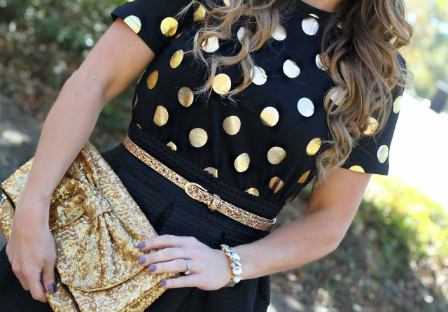 metallic polka dots 3