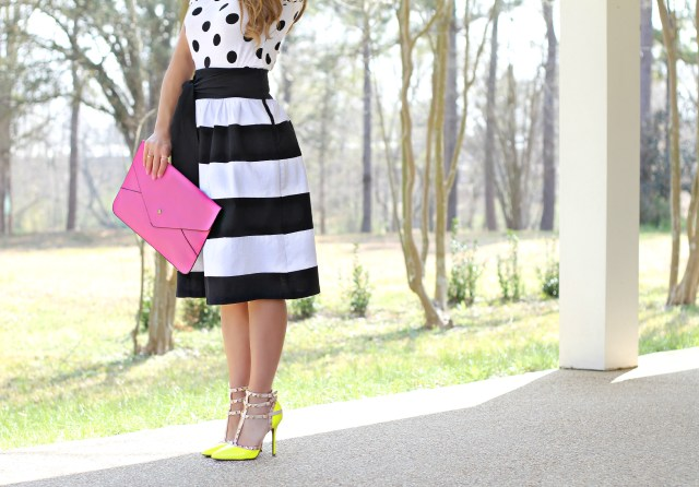 bold stripes skirt 6