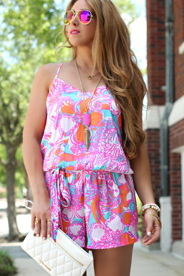 Lilly Pulitzer romper 2