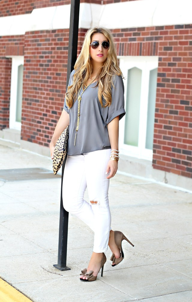 taupe bow heels 4