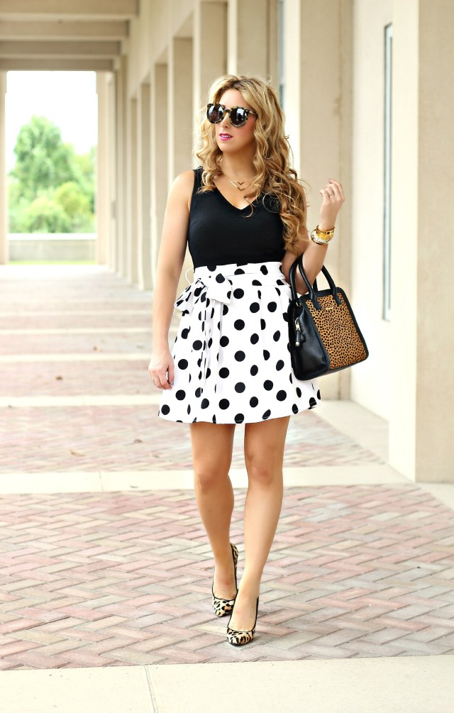 polka dot dress 1