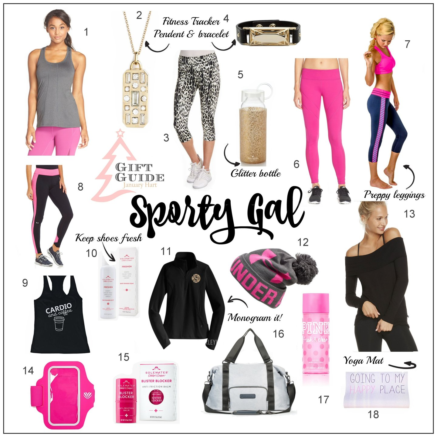 Sporty Gal Gift Guide 2015