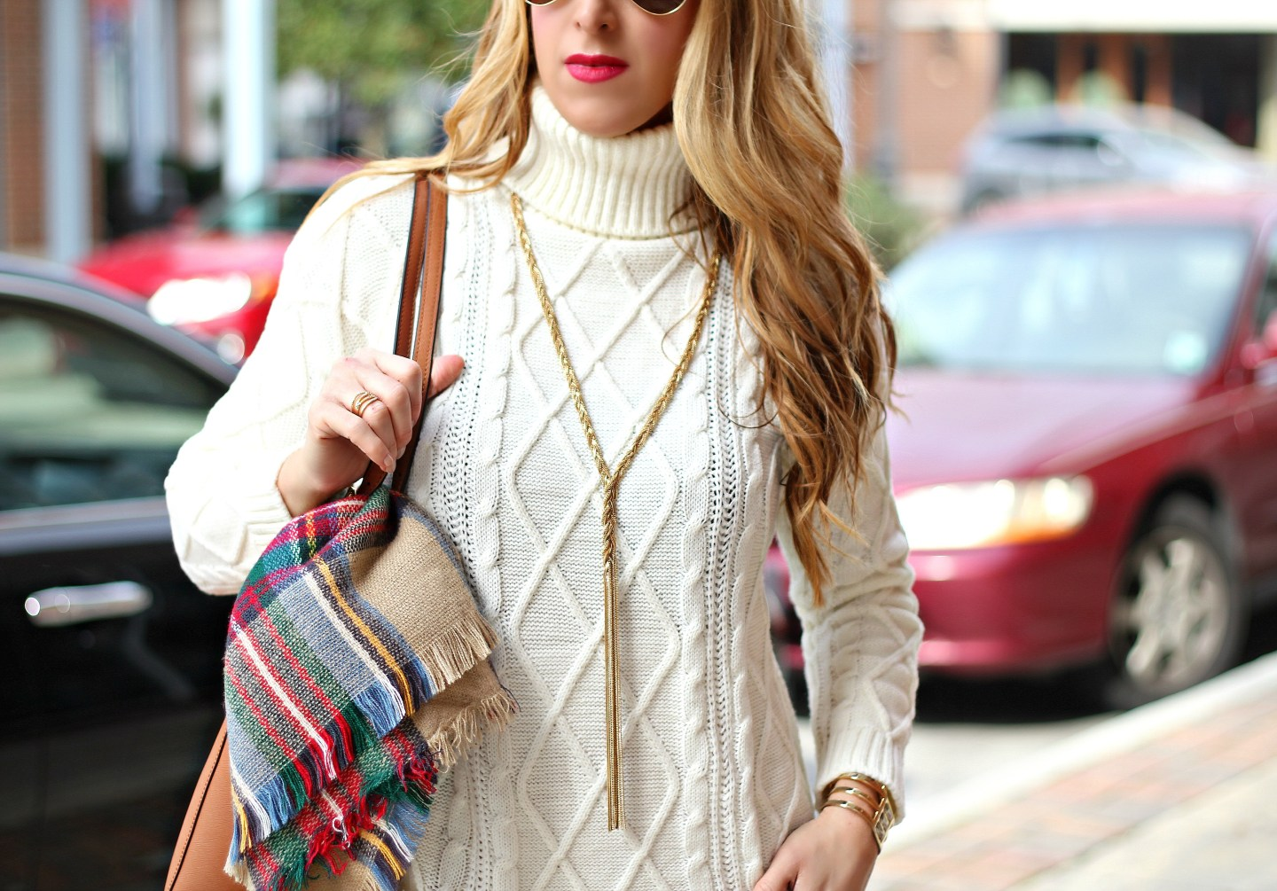 Cozy Cable Knit + a $500 Paypal Giveaway