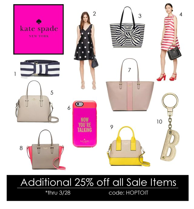 kate spade hop to it sale