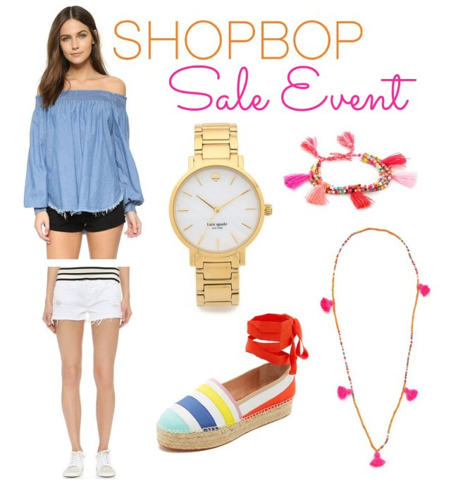 shopbop friends and family 2016