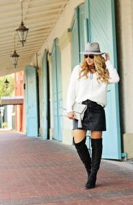 grey fall fedora
