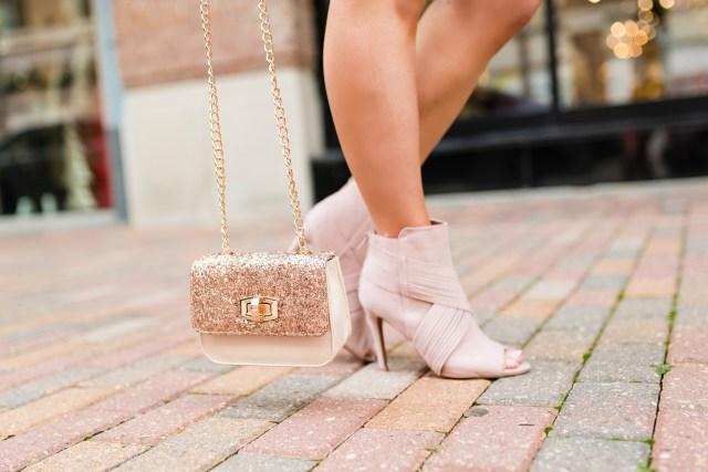 blush booties