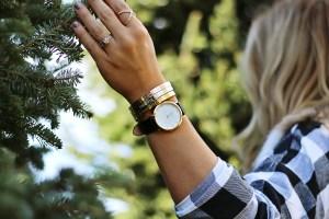 women's black watches