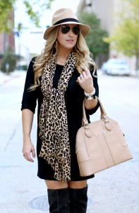 Leopard Scarf | January Hart Blog