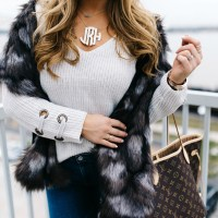 3 Ways to Glam Up a Neutral Sweater