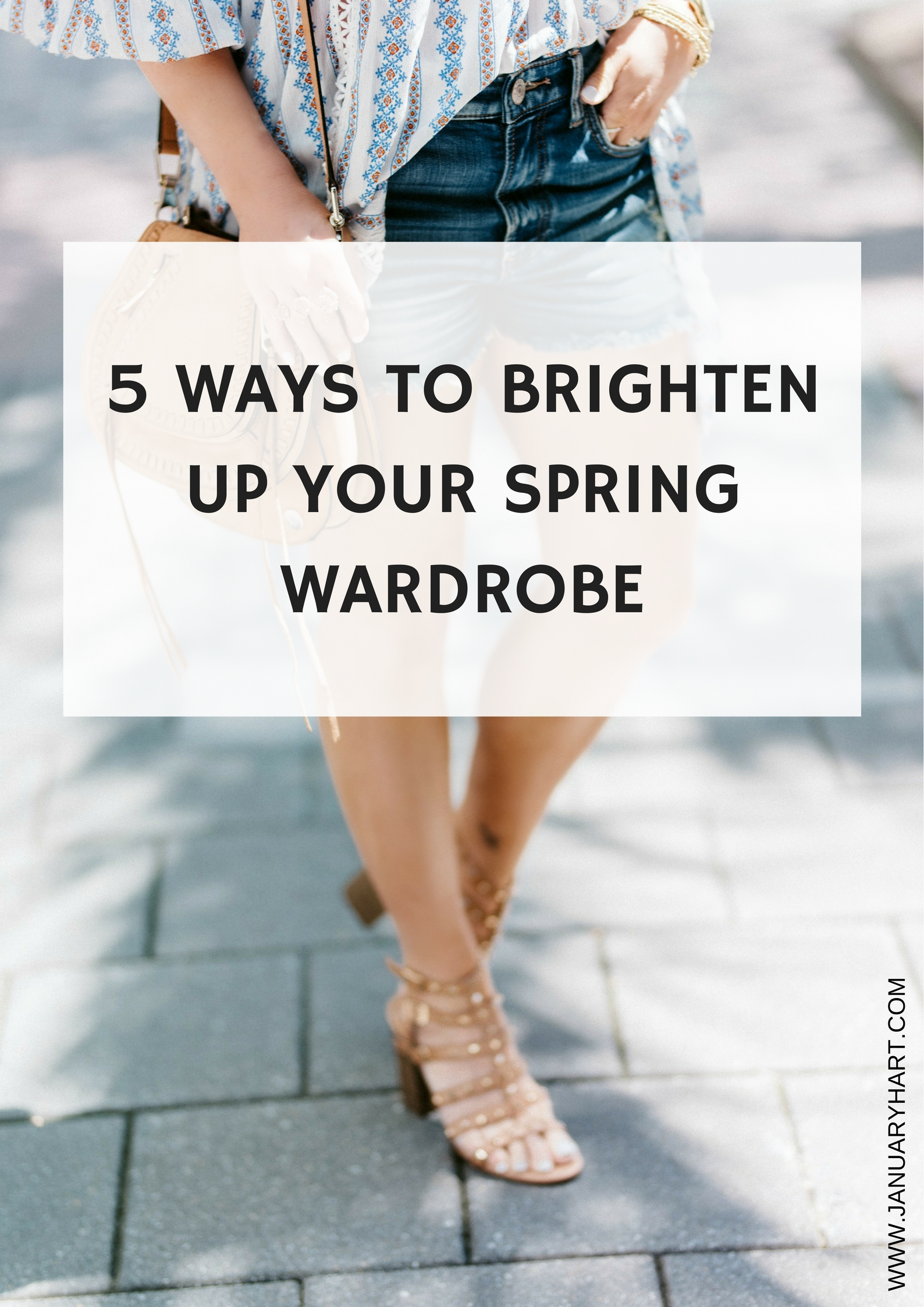 How to Brighten up your Spring Wardrobe