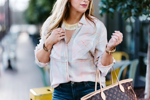 stella and dot essential fringe necklace