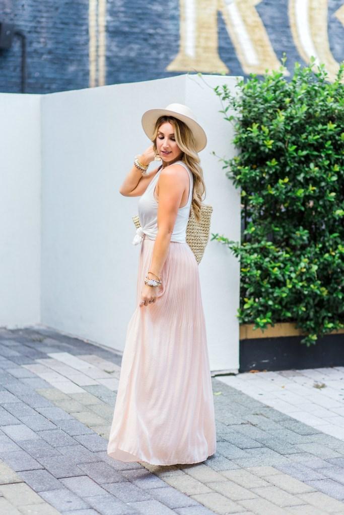 blush maxi skirt 4