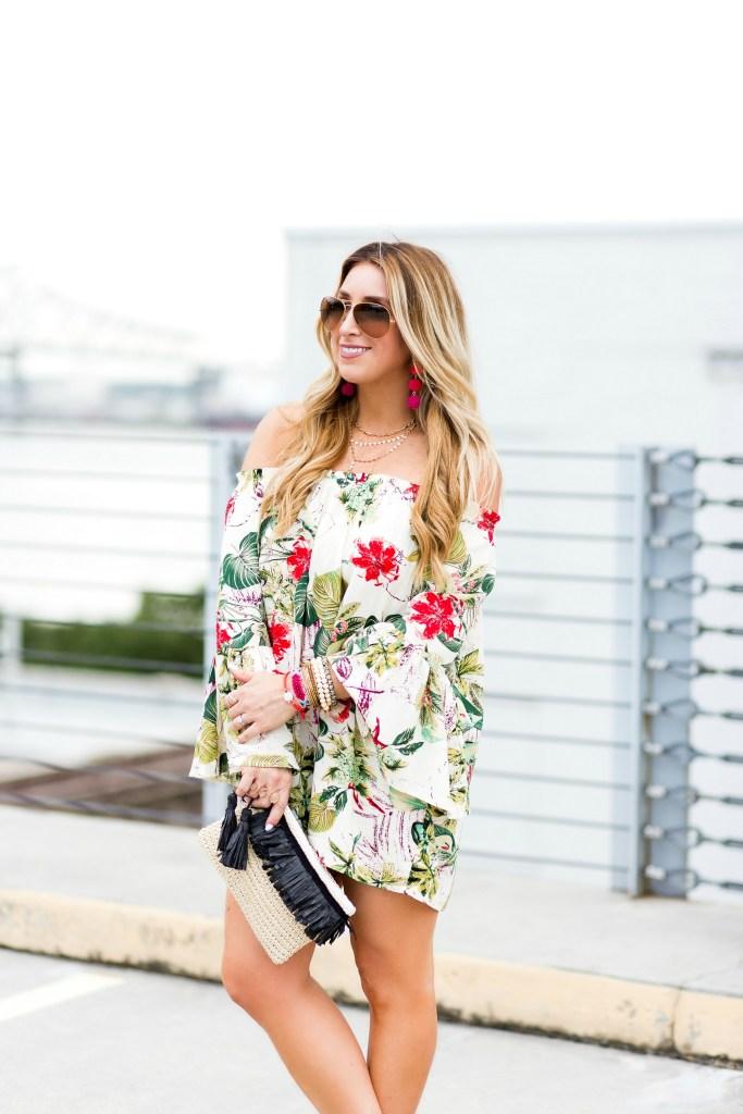 tropical ots dress 7