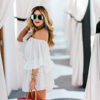 My Go-To White Romper for Summer