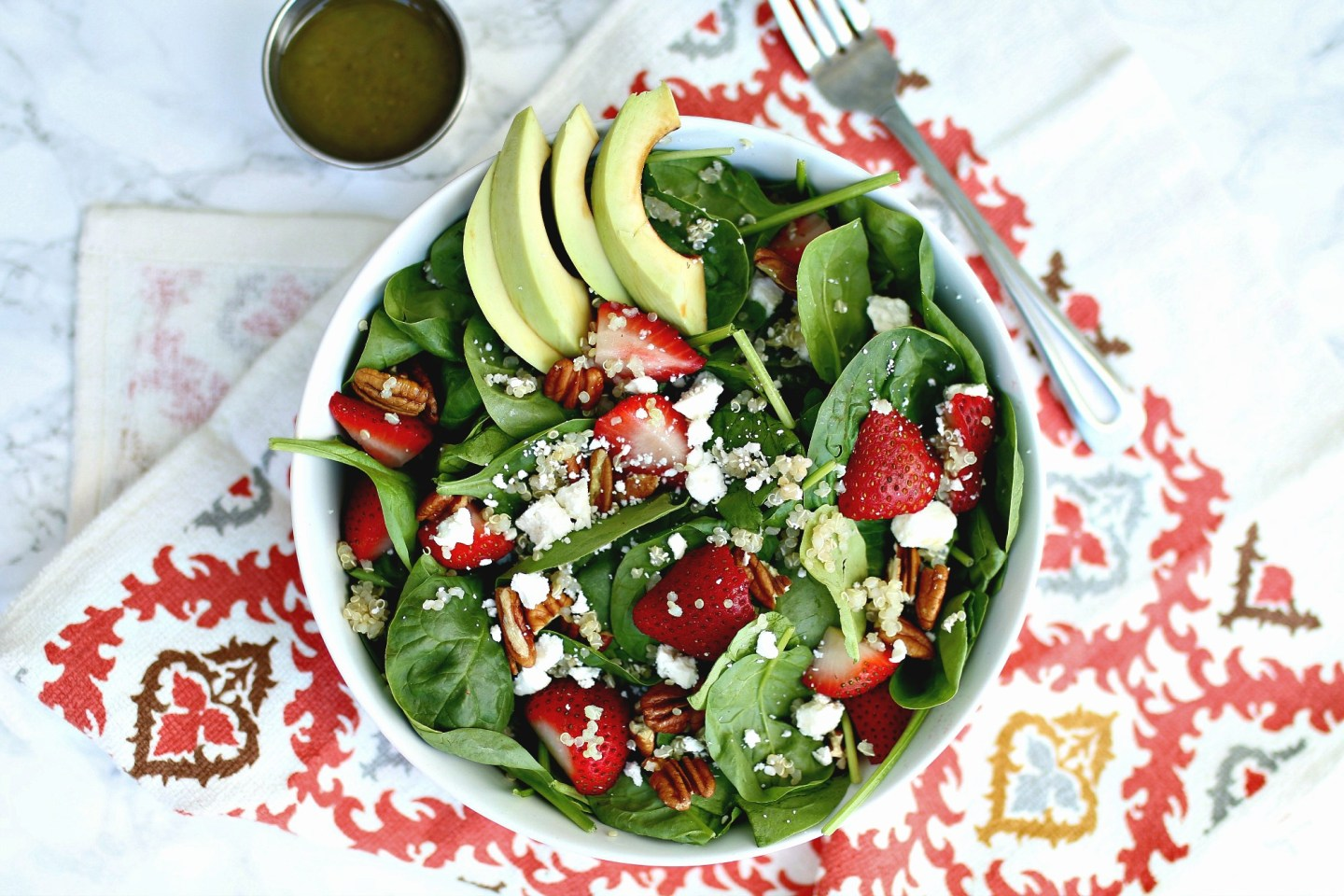 Quinoa Strawberry Salad Recipe