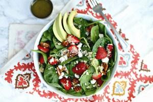Quinoa Strawberry Salad Recipe
