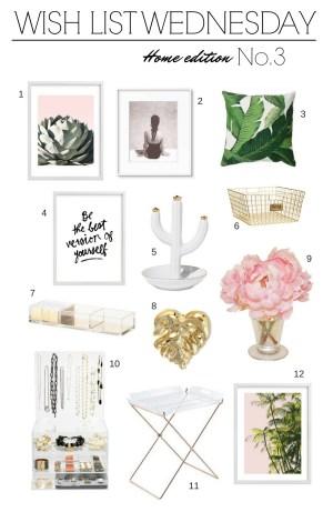 Wish List Wednesday Home Edition