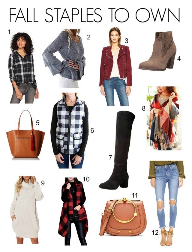 Fall Staple Pieces
