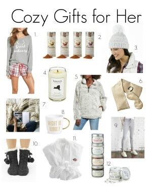 Holiday Gift Guide for Her 2017