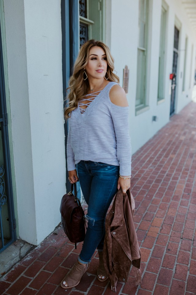 Women's Neutral Sweater