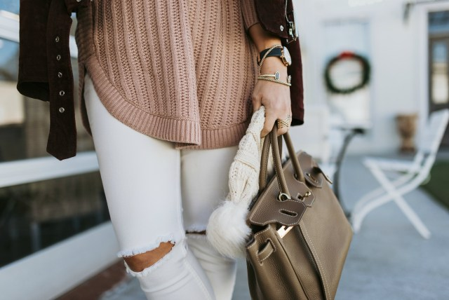 Teddy Blake taupe bag