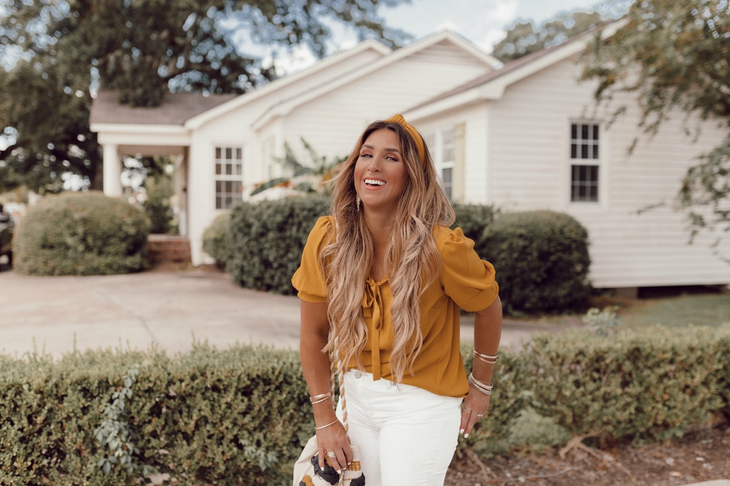Fall outfit Ideas with Mustard on JanuaryHart.com