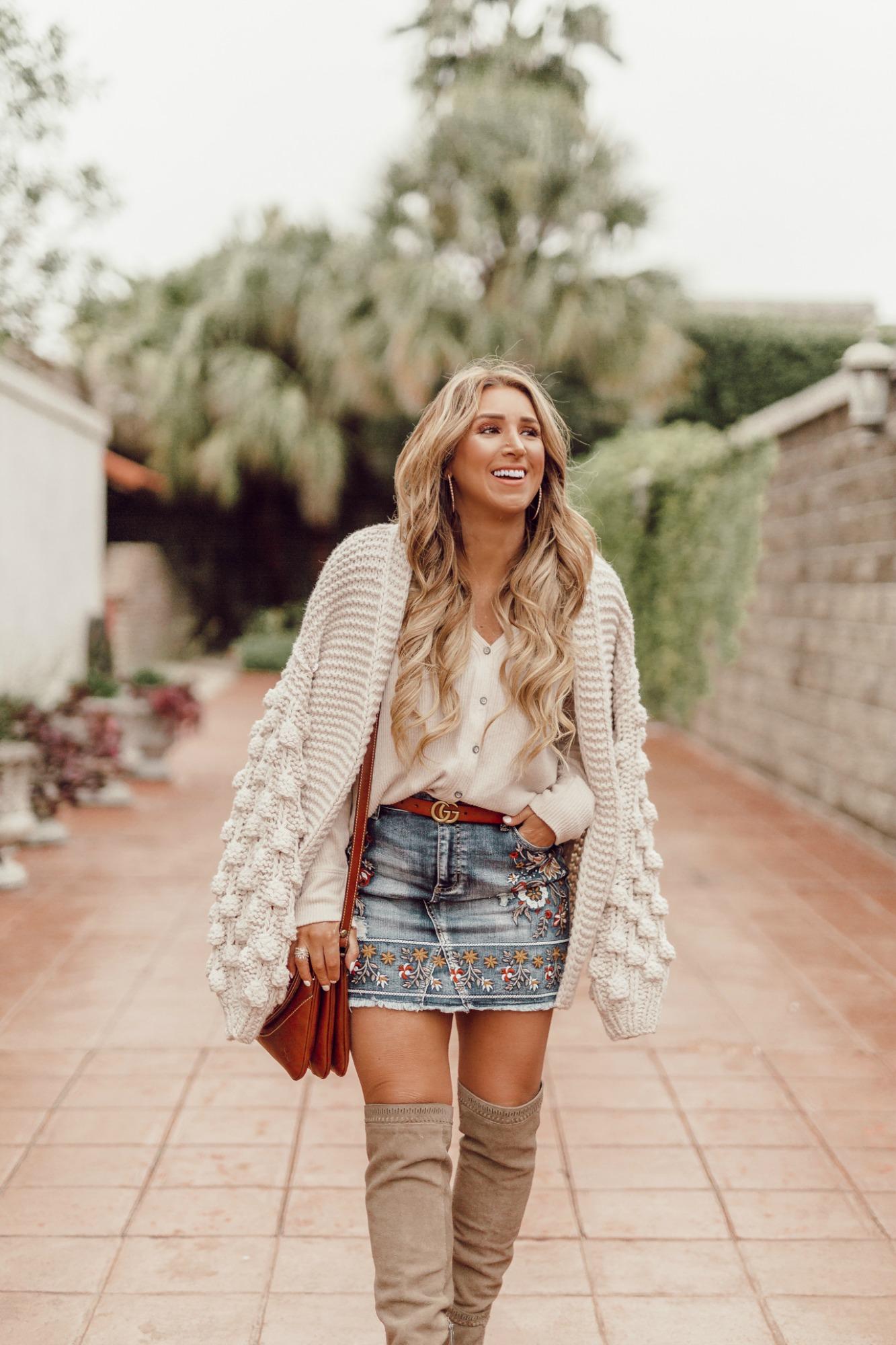 women's Bubble sleeve sweater