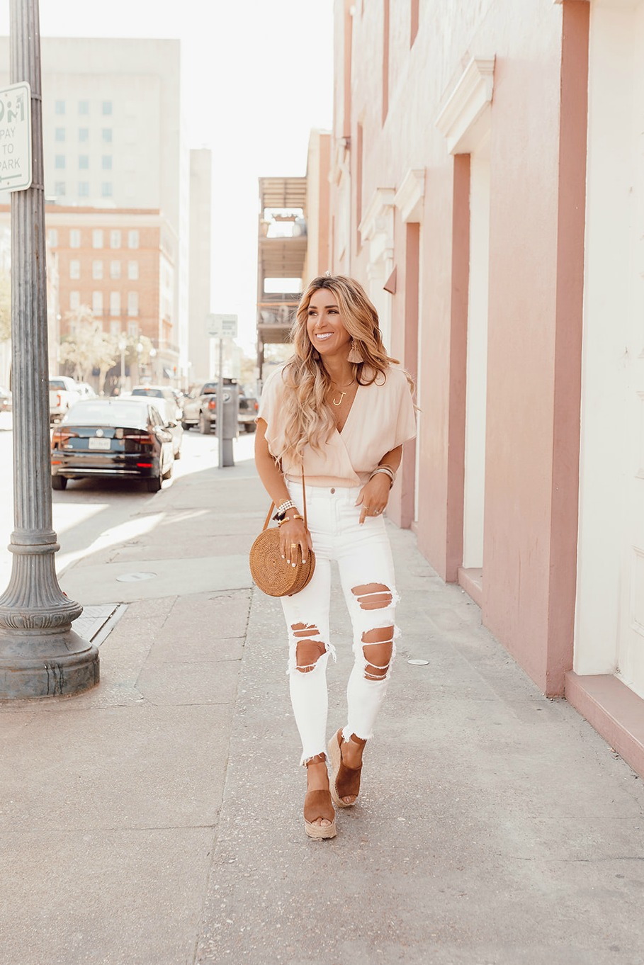 best womens white denim jeans