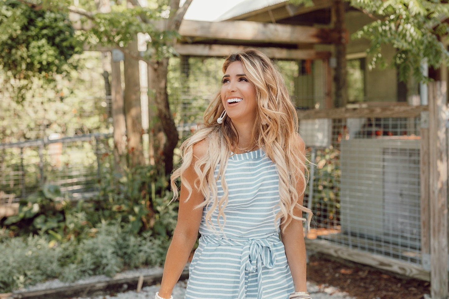 cropped chambray jumpsuit