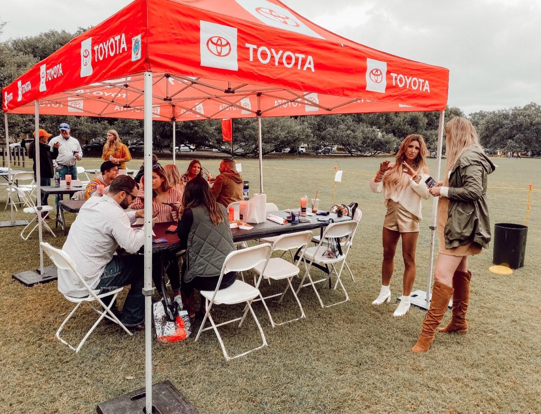 Toyota Tailgate LSU vs Auburn