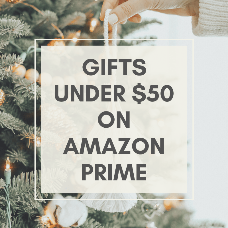 Amazon Prime gifts under $50