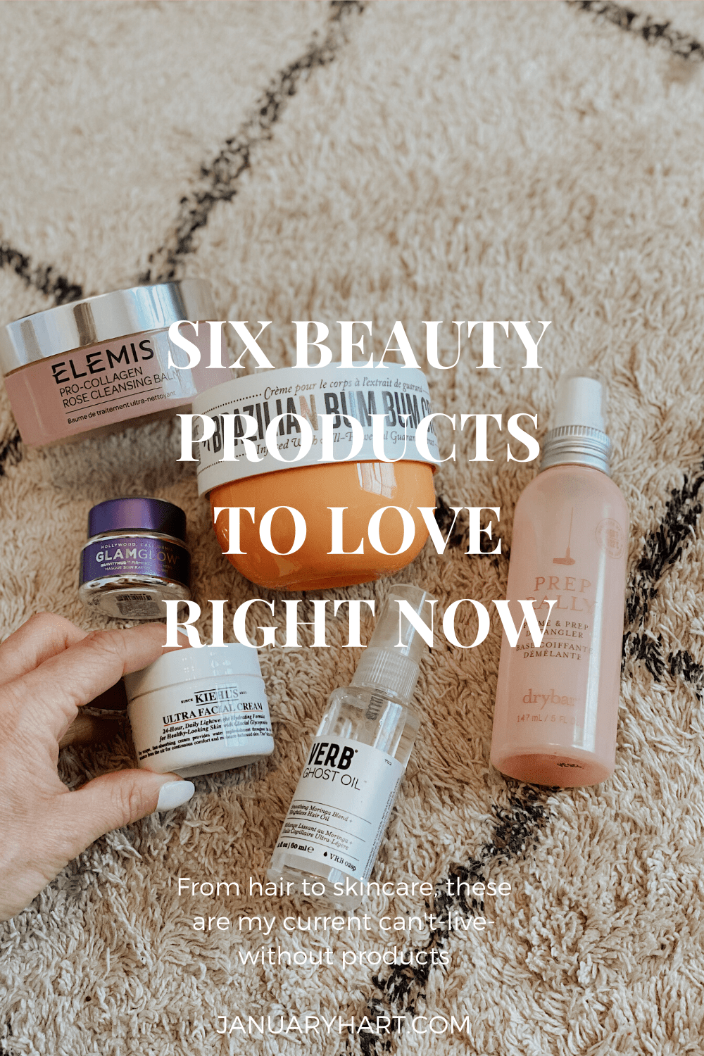six beauty products to love right now