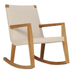Woven Rocking Chair Serta Lift Quinta Teak Janus Et Cie Add To My Portfolio