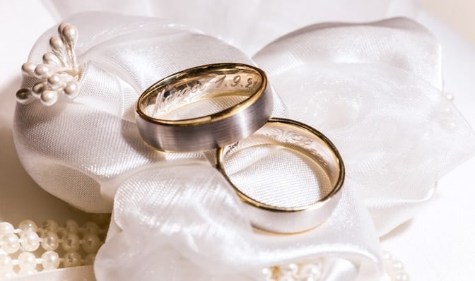 Top Six Engraving Ideas for Your Engagement  Wedding Rings